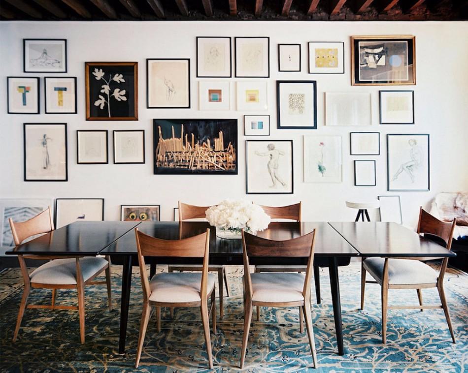 dining room wall decor 40+ Dining Room Wall Decor Ideas 40 Dining Room Wall Decor Ideas 35