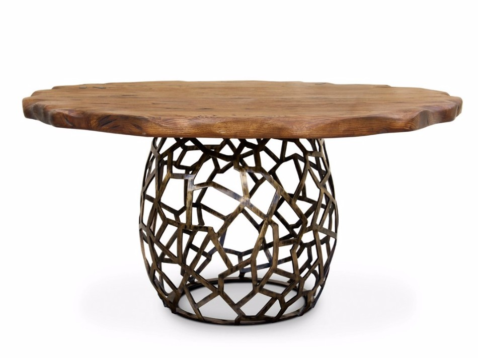 WOOD TABLES design trends Dining Table Design Trends For This Fall/Winter Dining Table Design Trends For This FallWinter 19