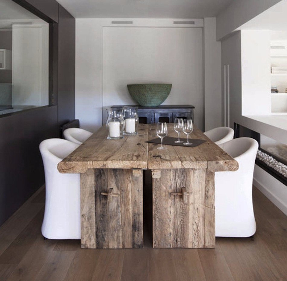 RUSTIC TABLES design trends Dining Table Design Trends For This Fall/Winter Dining Table Design Trends For This FallWinter 3