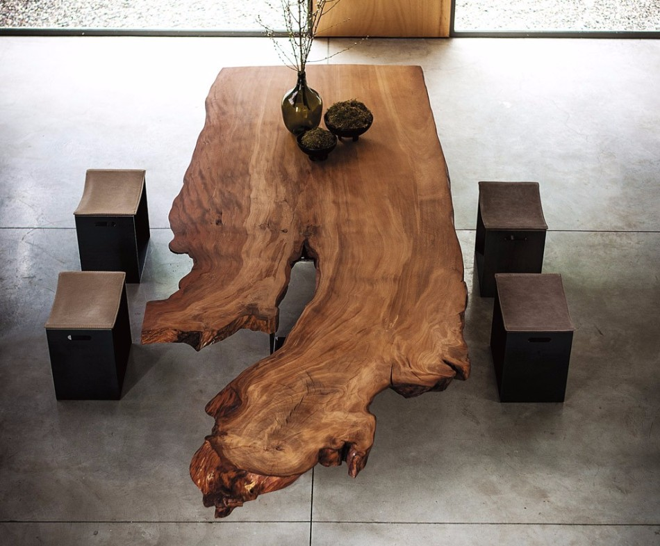 WOOD TABLES  design trends Dining Table Design Trends For This Fall/Winter Dining Table Design Trends For This FallWinter 4