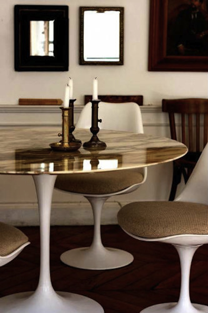 Gold Dining Tables ~ Top modern dining tables to inspire you