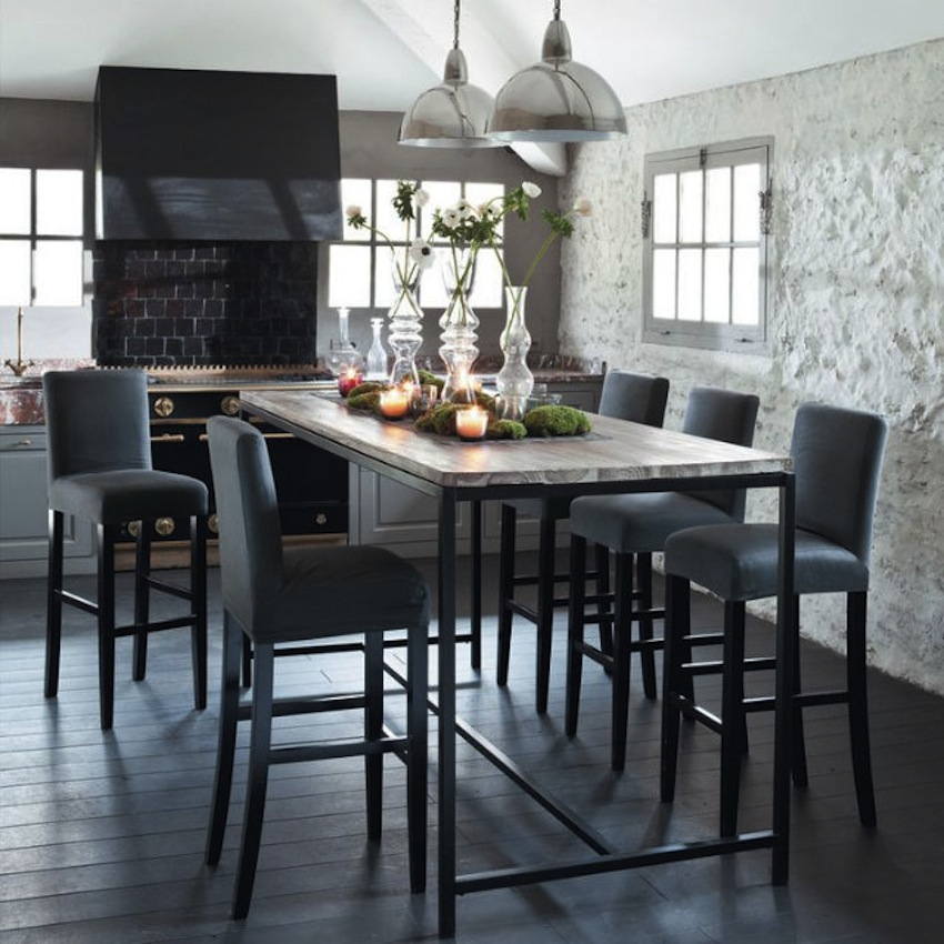 Top 50 modern dining tables to inspire you for Table haute salle a manger