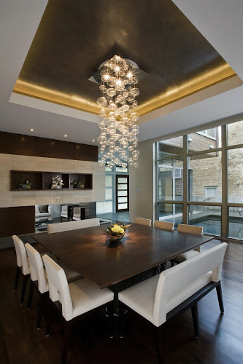 Top 50 modern dining tables to inspire you for Best dining room designs
