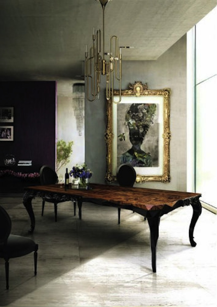 Top 50 modern dining tables to inspire you for Modern dining room 2016