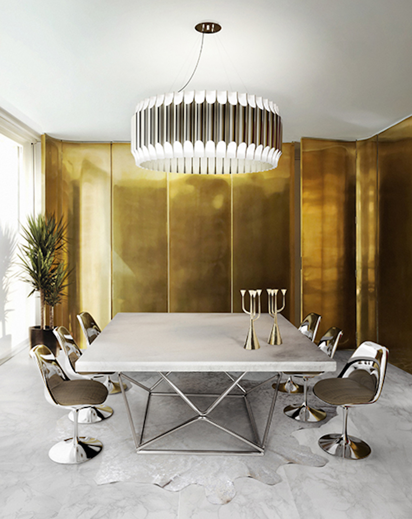 The best lighting ideas for your dining room - Modern pendant lighting for dining room ...