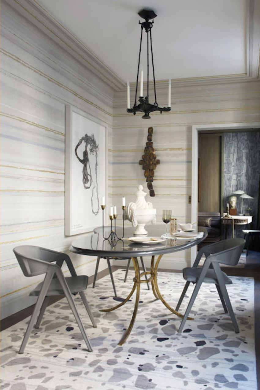 10 amazing dining room ideas to inspire you for Modern wallpaper designs for dining room