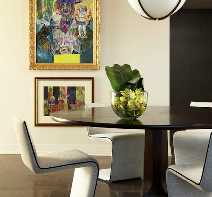 10 fantastic modern dining table centerpieces ideas for Dining room table arrangements