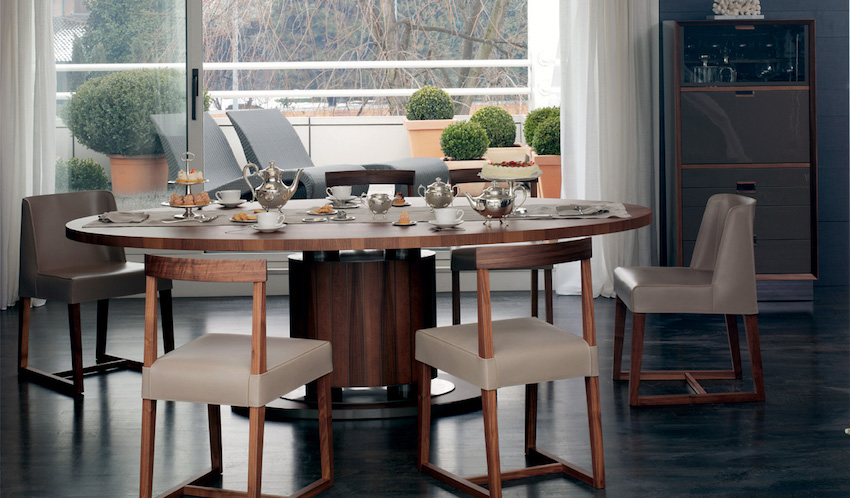 15 Modern Dining Table from Top Luxury Furniture Brands. To see more Modern Dining Tables ideas visit us at www.moderndiningtables.net #diningtables #homedecorideas #diningroomideas