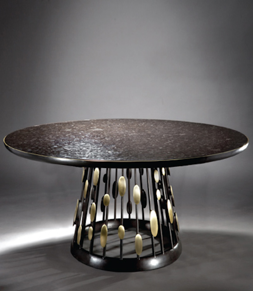 15 modern dining tables from top luxury furniture brands for Luxury dinner table