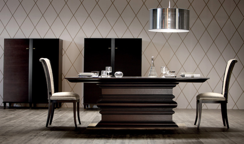 modern dining tables from top luxury furniture brands modern dining - Designer Wood Dining Tables