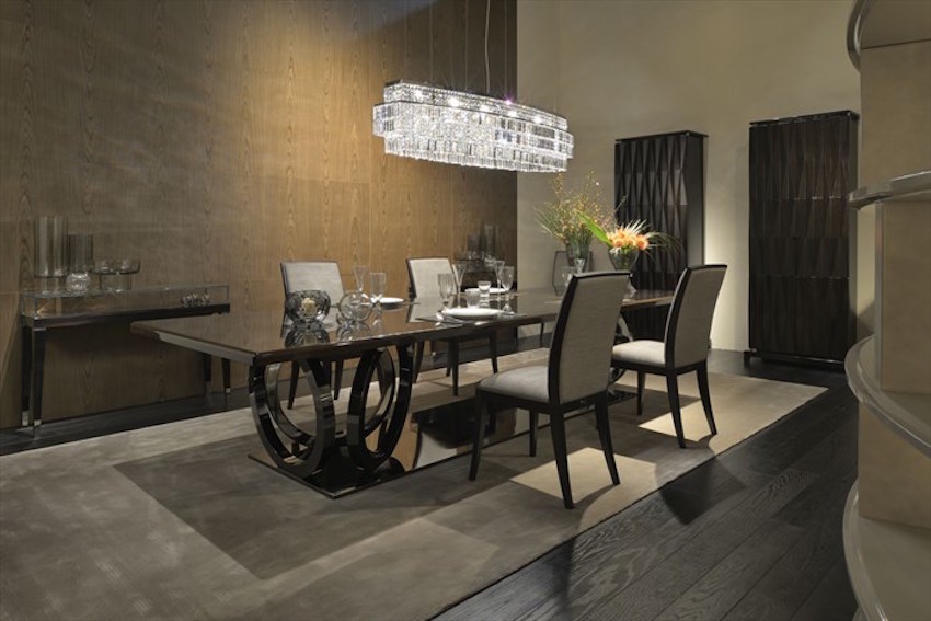 15 modern dining tables from top luxury furniture brands fendi casa 15