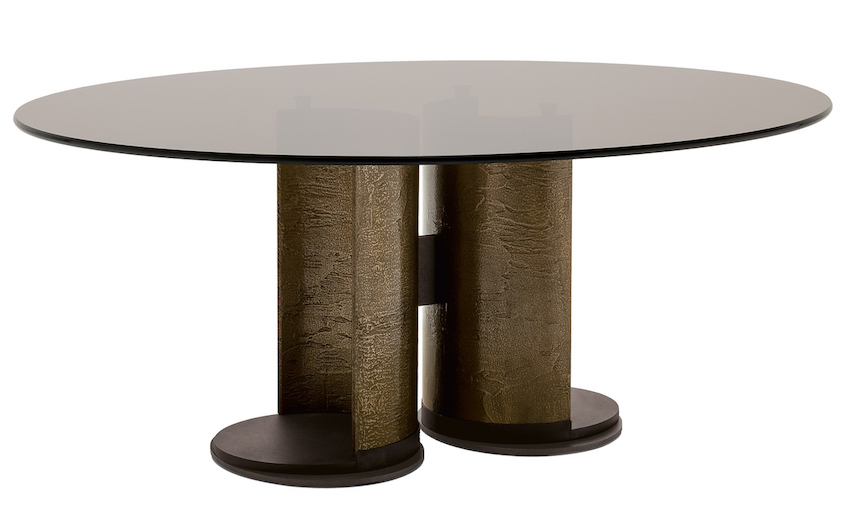 13 modern dining tables from top luxury furniture brands for Circle furniture dining tables