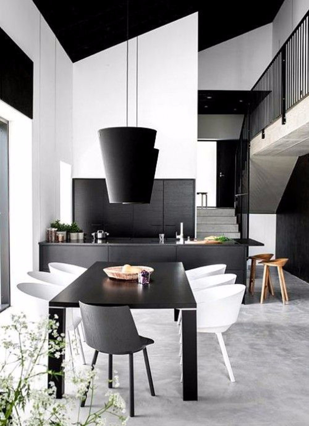 20 timeless minimalist dining rooms with modern dining tables for Modern dining suites