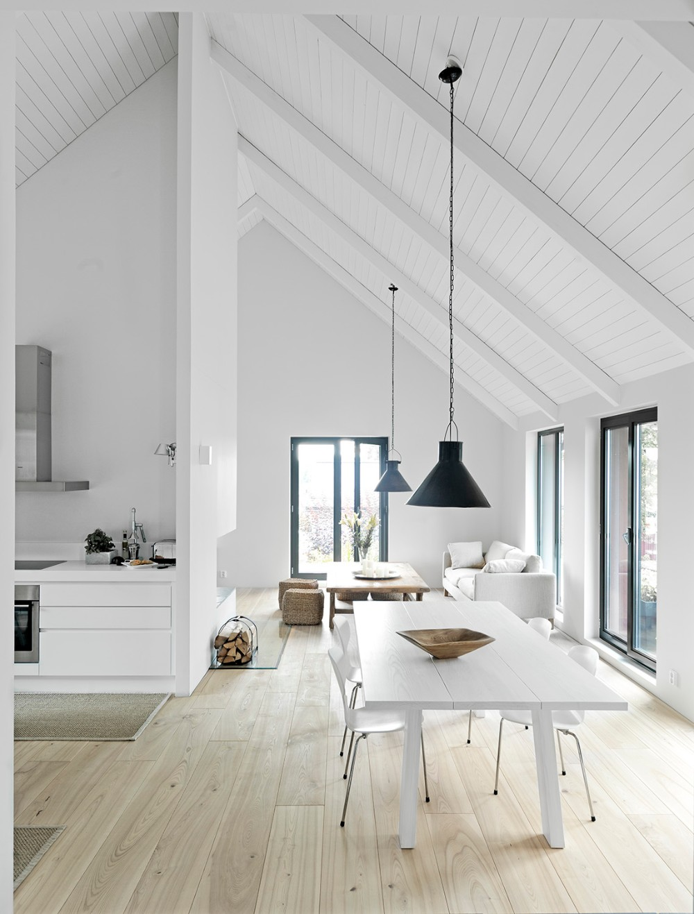 minimalist 20 Timeless Minimalist Dining Rooms with Modern Dining Tables 25 timeless minimalist dining rooms with modern dining tables 8