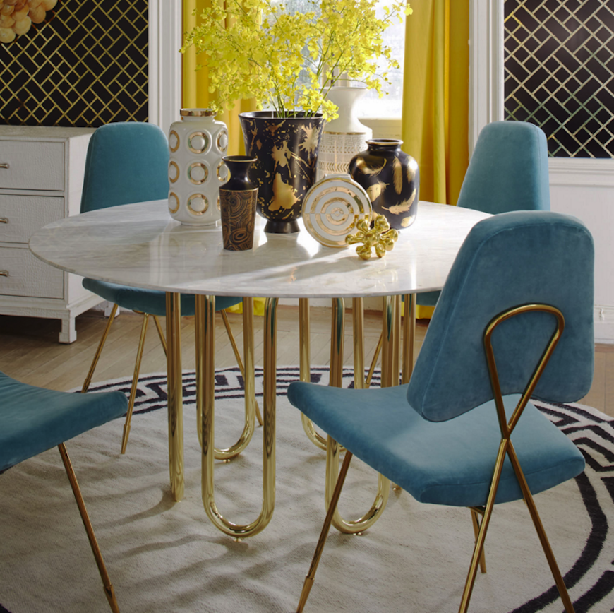 7 Modern Dining Tables By Jonathan Adler Modern Dining