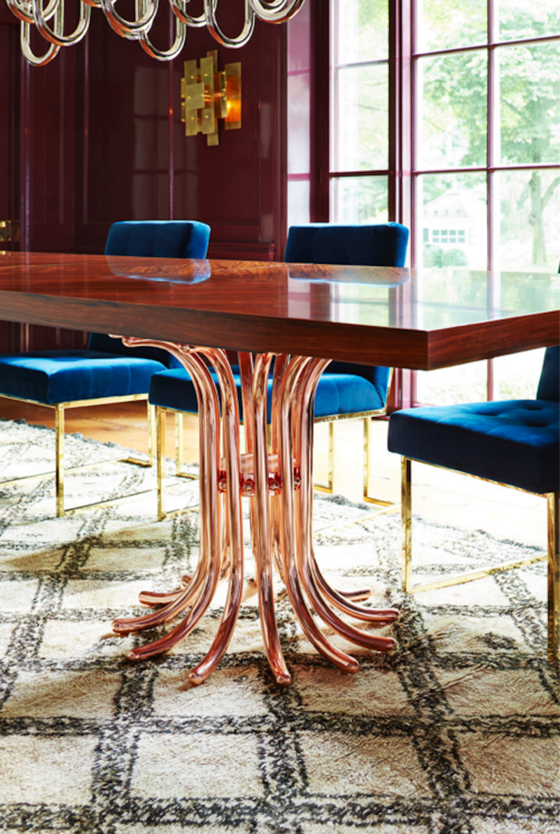 7 Modern Dining Tables By Jonathan Adler
