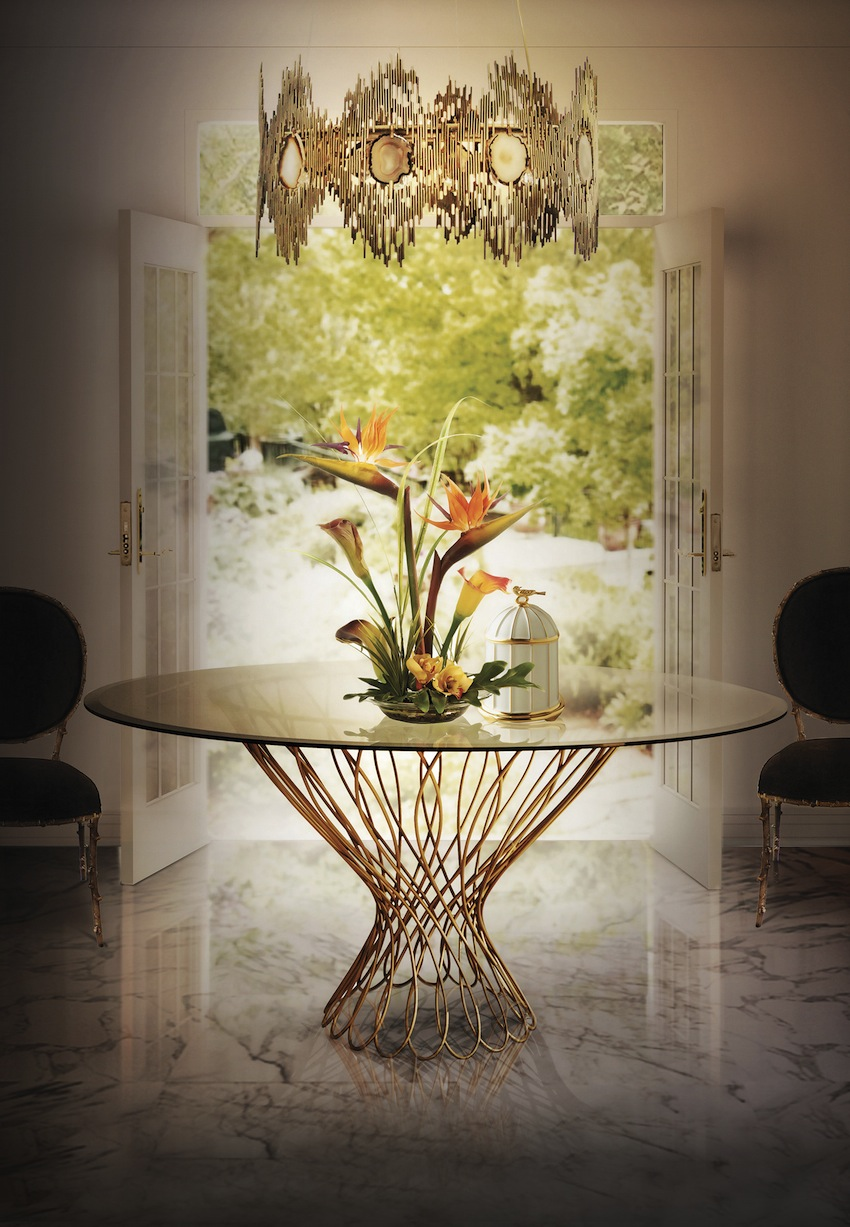 Glass Dining Tables  glass dining tables Amazing Modern Glass Dining Tables top 10 modern glass dining tables 2