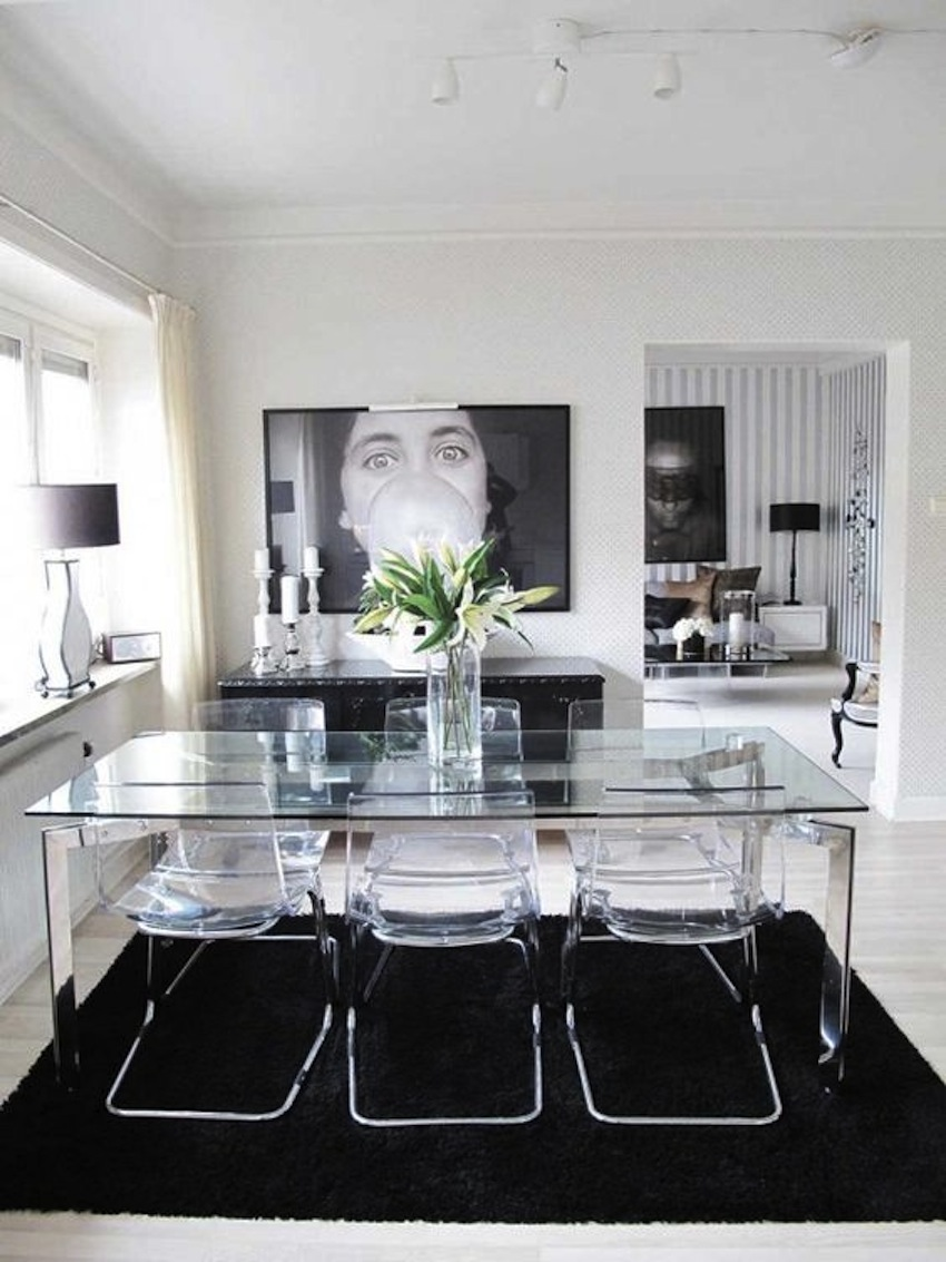 Glass Dining Tables  glass dining tables Amazing Modern Glass Dining Tables top 10 modern glass dining tables 8