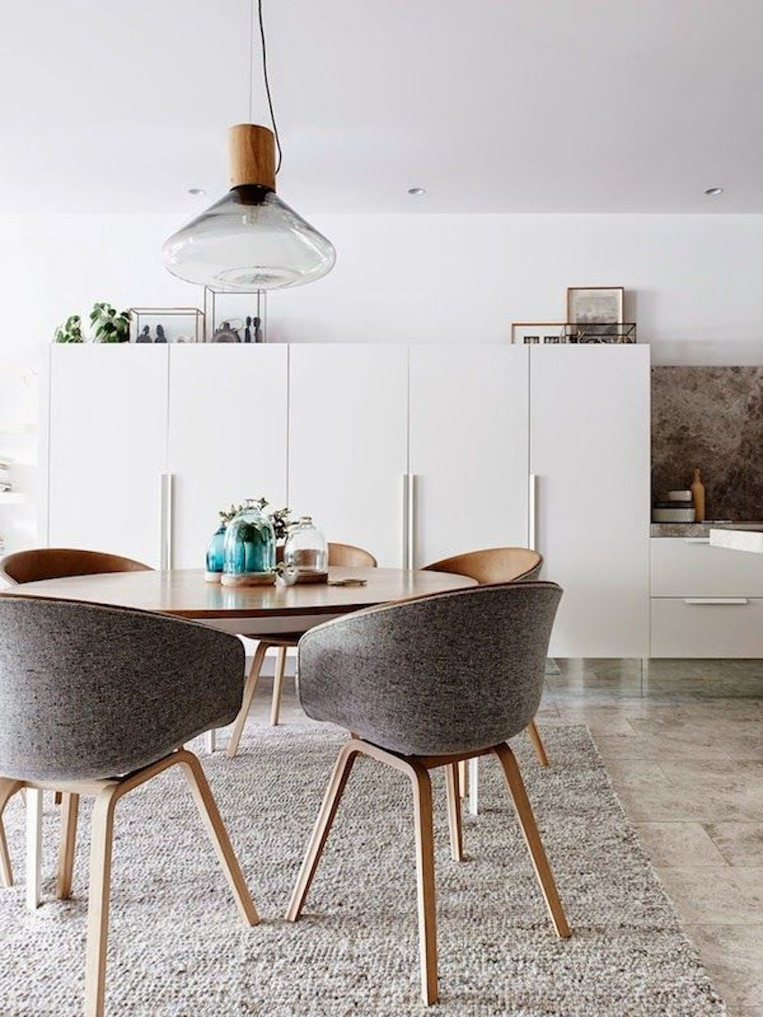 Modern Dining Chairs ~ Top modern round dining tables
