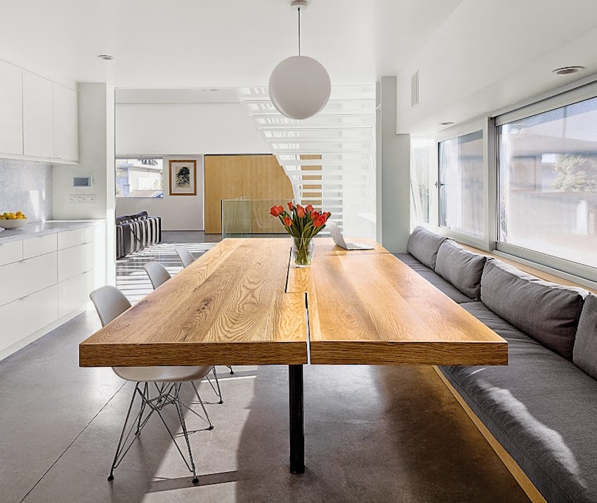 10 incredible dining room ideas that will fascinate you for Modern kitchen table