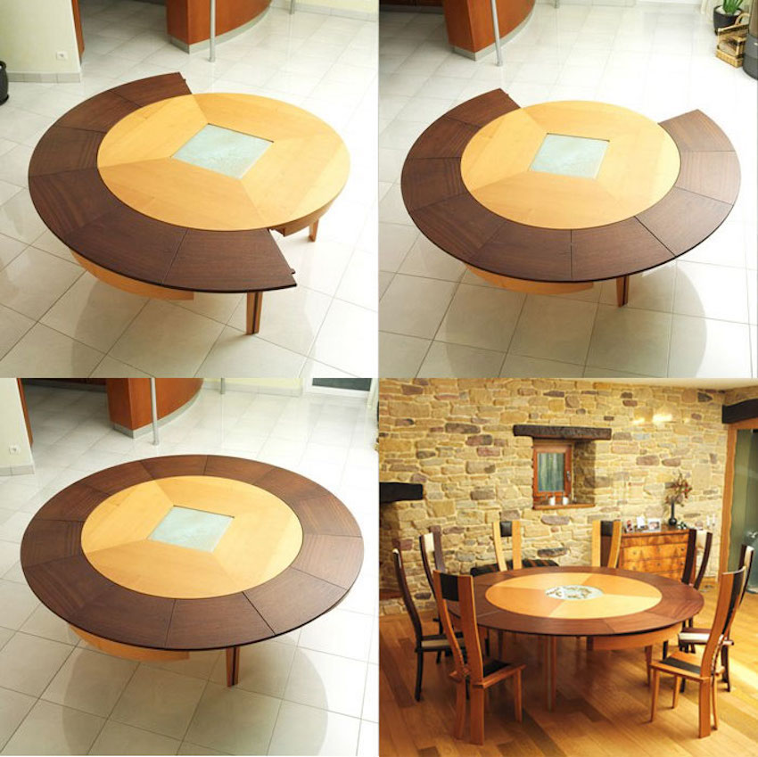 10 Amazing Extendable Dining Tables That You Will Love Have ➤ Discover the season's newest designs and inspirations. Visit us at www.moderndiningtables.net #diningtables #homedecorideas #diningroomideas @ModDiningTables
