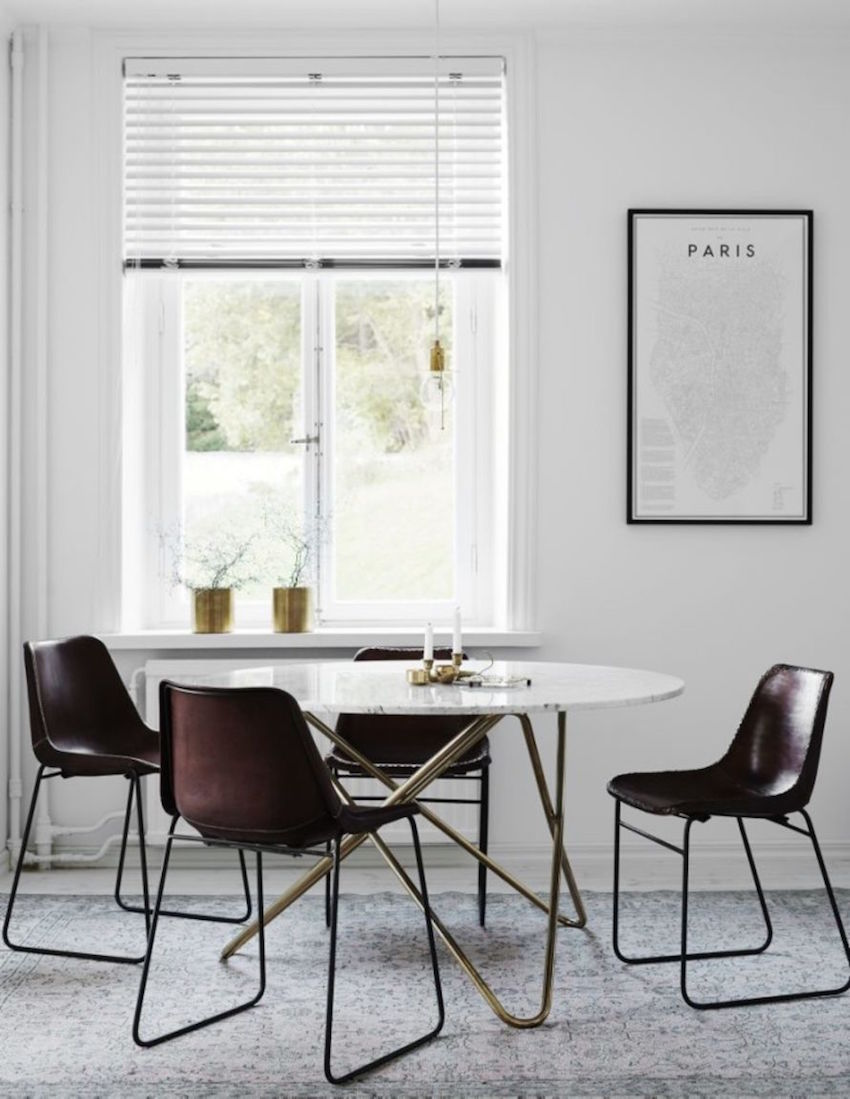 10 awesome modern dining room sets that you will adore for Modern dinning room table