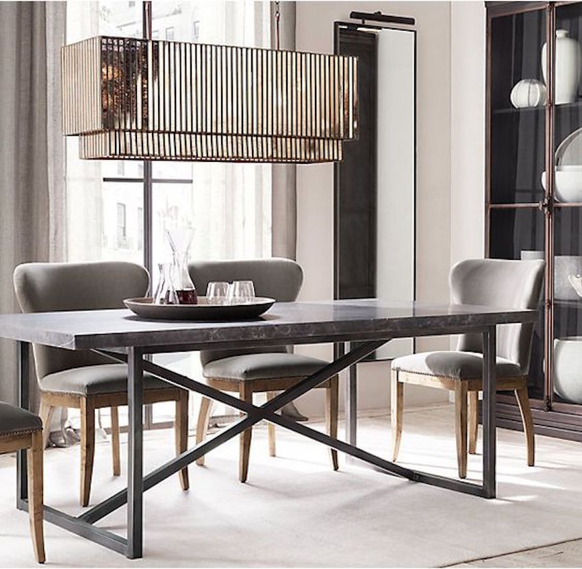 10 narrow dining tables for a small dining room for Thin dining table