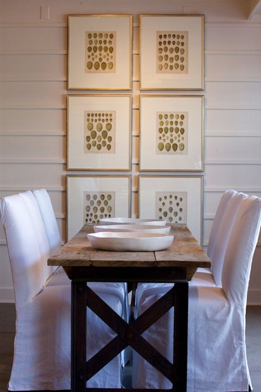 10 narrow dining tables for a small dining room - Dining table designs for small spaces model ...
