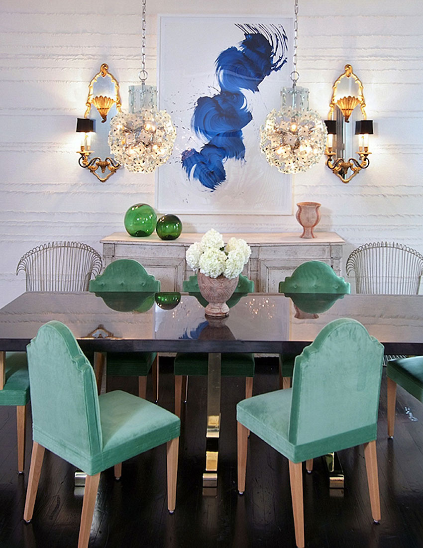 10 Outstanding Dining Room Interiors by Nate Berkus ➤ Discover the season's newest designs and inspirations. Visit us at www.moderndiningtables.net #diningtables #homedecorideas #diningroomideas @ModDiningTables