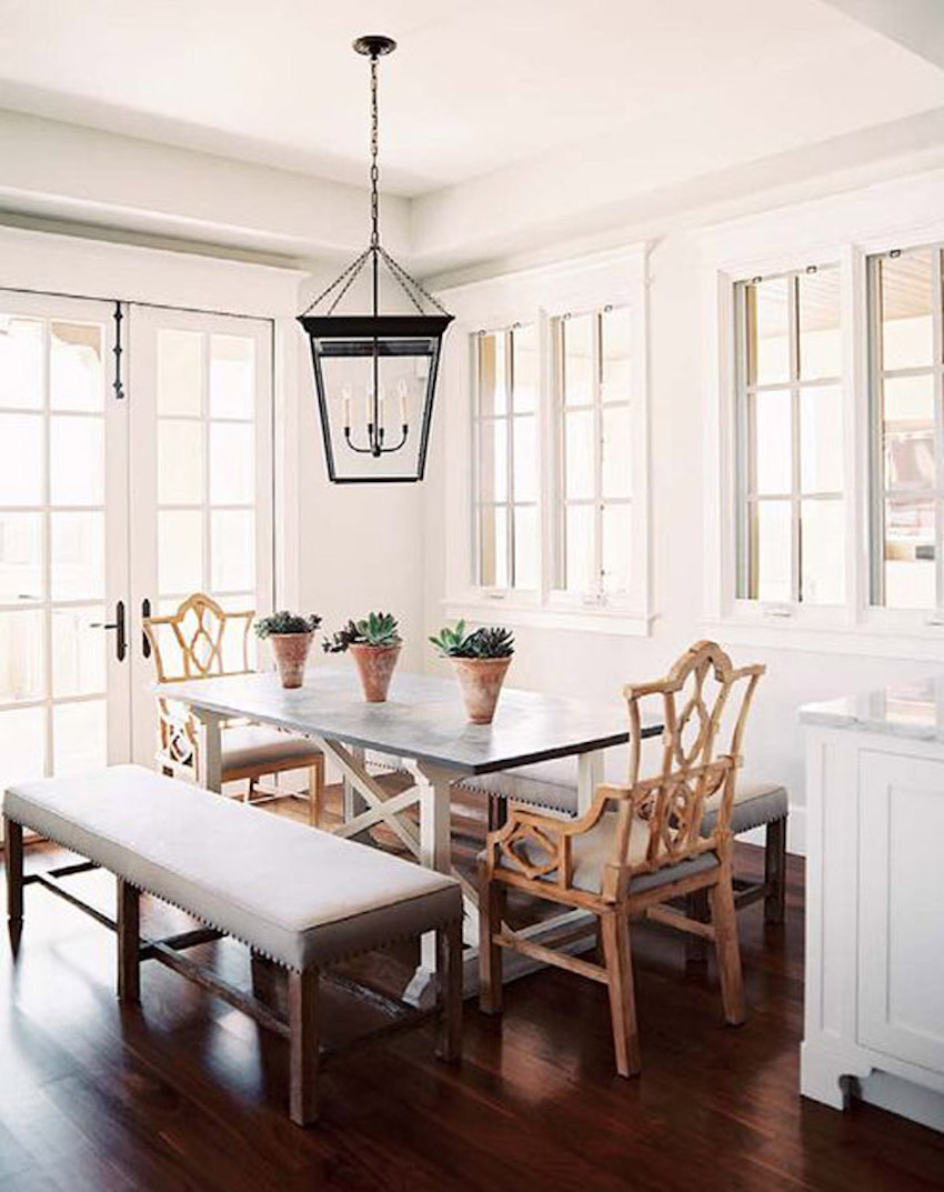 10 outstanding dining room interiors by nate berkus for Dining room or dinning room