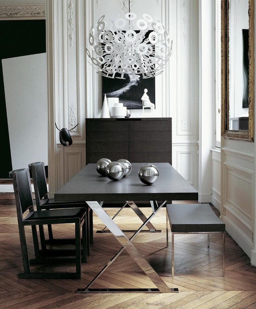 10 spectacular modern dining room sets to inspire you on for Modern dining room 2016