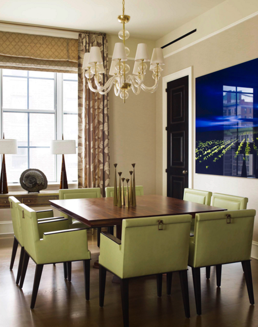 10 superb square dining table ideas for a contemporary for Best modern dining rooms