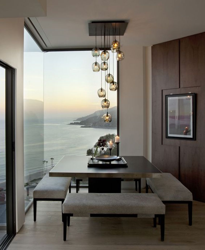 10 superb square dining table ideas for a contemporary Images of modern dining rooms