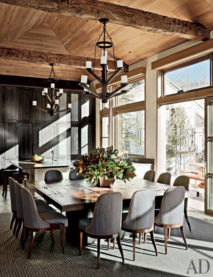 10 superb square dining table ideas for a contemporary for Big table small dining room
