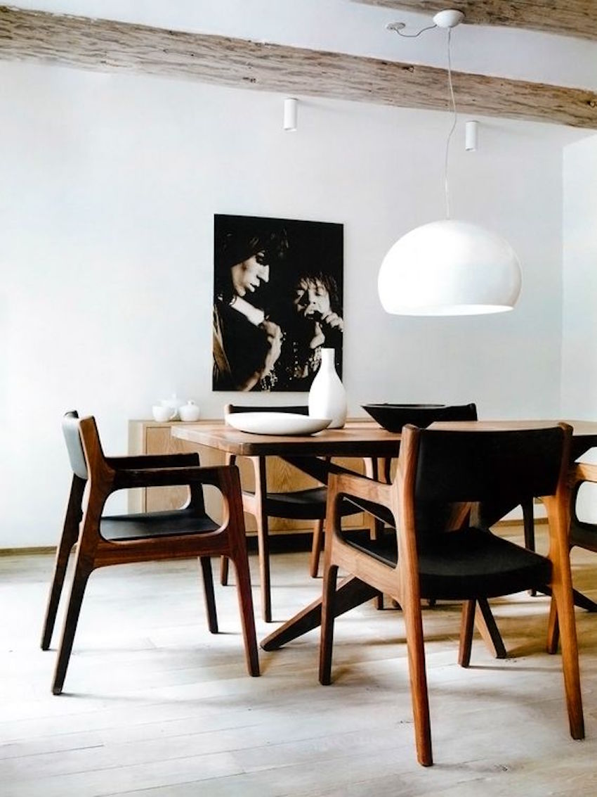15 fabulous wood dining room sets that will inspire you for Modern dining table and chairs set