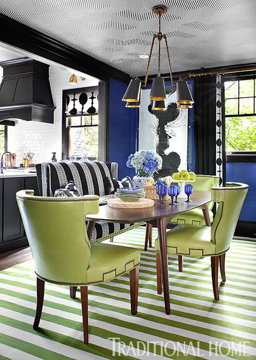15 astounding oval dining tables for your modern dining room for Dining room table with settee