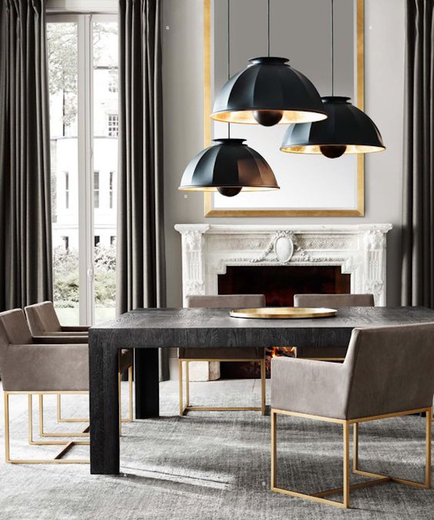 10 astonishing modern dining room sets for Contemporary dining table decor
