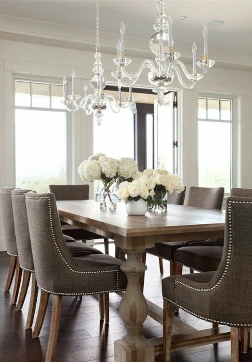 10 astonishing modern dining room sets for Dining room sets for 6