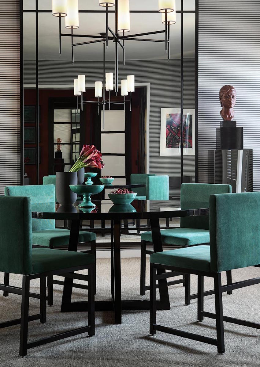 10 astonishing modern dining room sets for Modern dinning room table