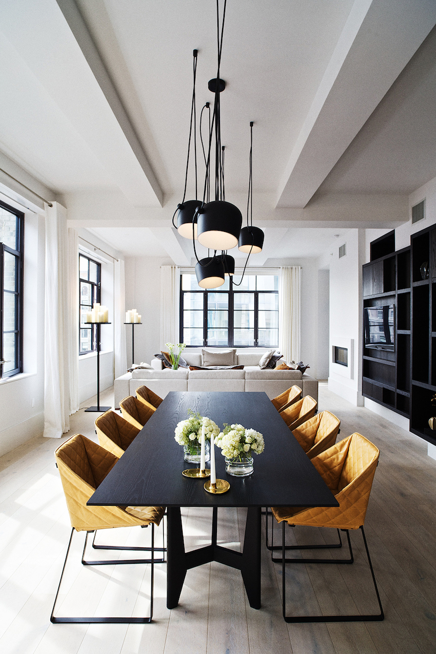 10 Astonishing Modern Dining Room Sets. Discover the season's newest designs and inspirations. Visit us at www.moderndiningtables.net #diningtables #homedecorideas #diningroomideas black dining tables 10 Gorgeous Black Dining Tables for Your Modern Dining Room Astonishing Modern Dining Room Sets Piet Boon
