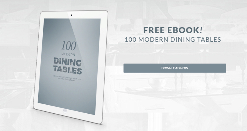 "Get Inspired With the Free e-Book 100 Modern Dining Tables download 100 modern dining tables Get Inspired With the Free e-Book ""100 Modern Dining Tables"" Get Inspired With the Free e Book 100 Modern Dining Tables download"