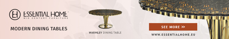 modern dining tables Pamper Your Home With These Stunning Modern Dining Tables horizontal eh