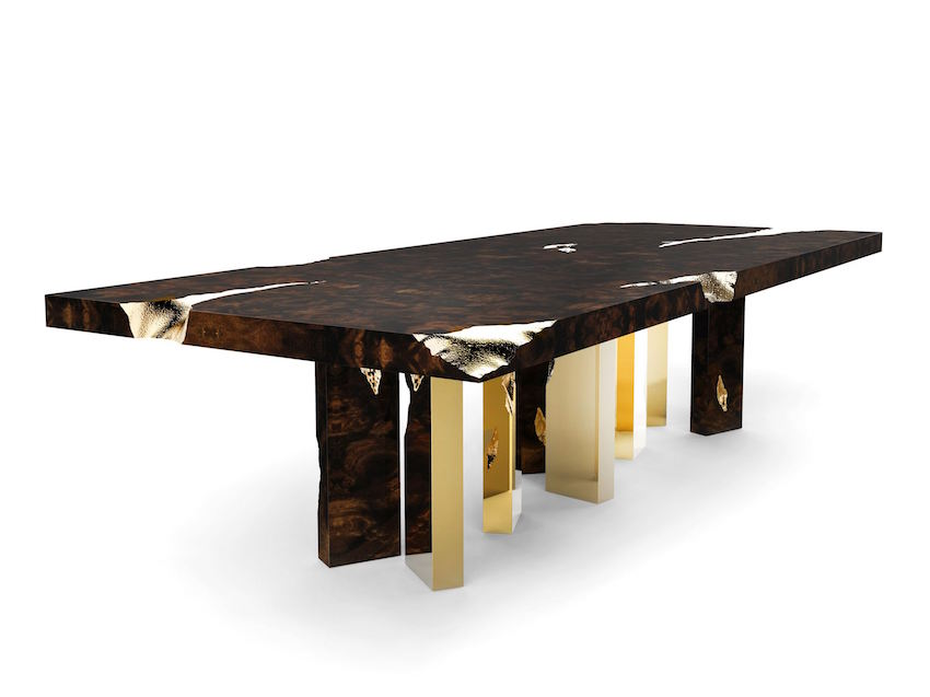 5 astonishing modern dining tables from salone del mobile 2016