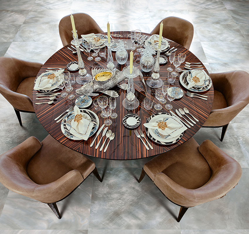 Roberto Cavalli will Surprise Everyone at Salone del Mobile 2016 ➤ Discover the season's newest designs and inspirations. Visit us at www.moderndiningtables.net #diningtables #homedecorideas #diningroomideas @ModDiningTables salone del mobile 2016 Roberto Cavalli Surprised Everyone at Salone del Mobile 2016 Roberto Cavalli will Surprise Everyone at iSaloni 2016 3
