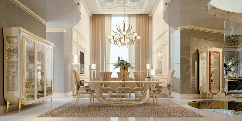 Salone del mobile 2016 5 stunning dining room sets by for Dining room designs 2016