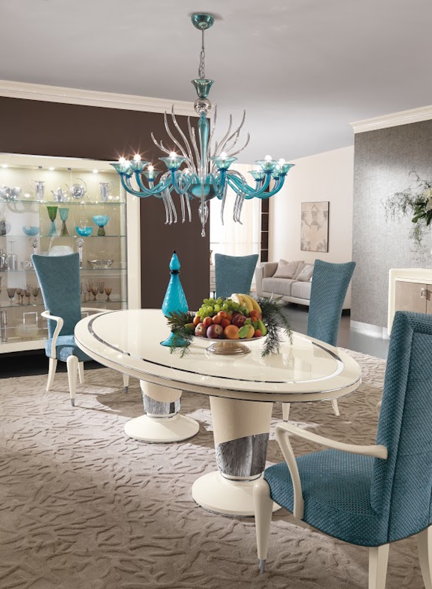 Salone del mobile 2016 5 stunning dining room sets by for Modern dining room 2016