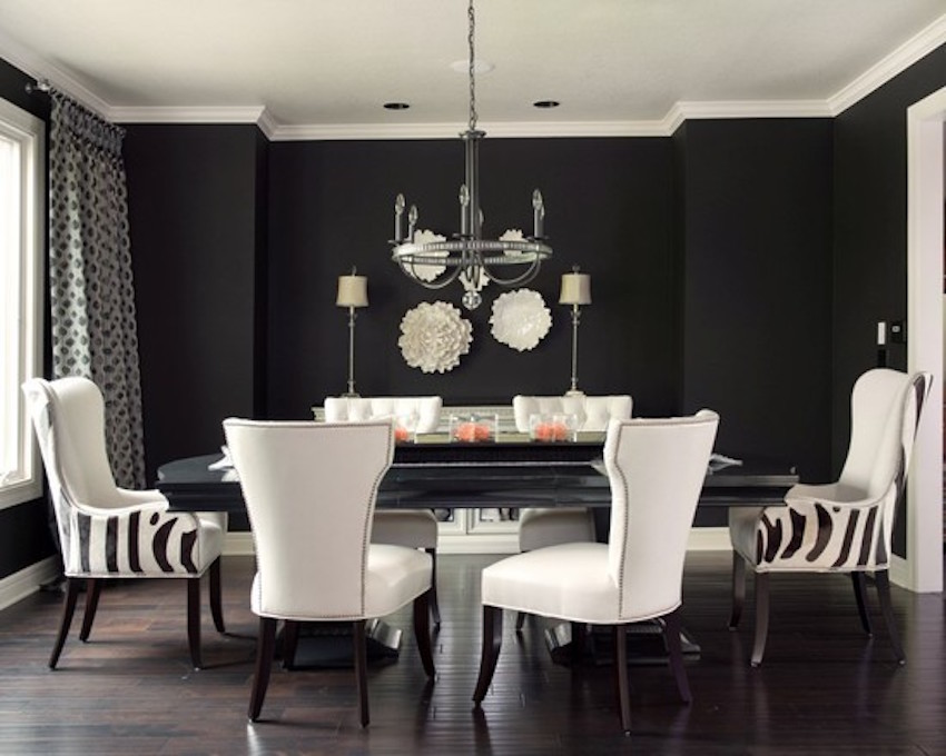 10 Striking Color Scheme Ideas for Dining Rooms That You Will Love ➤ Discover the season's newest designs and inspirations. Visit us at www.moderndiningtables.net #diningtables #homedecorideas #diningroomideas @ModDiningTables