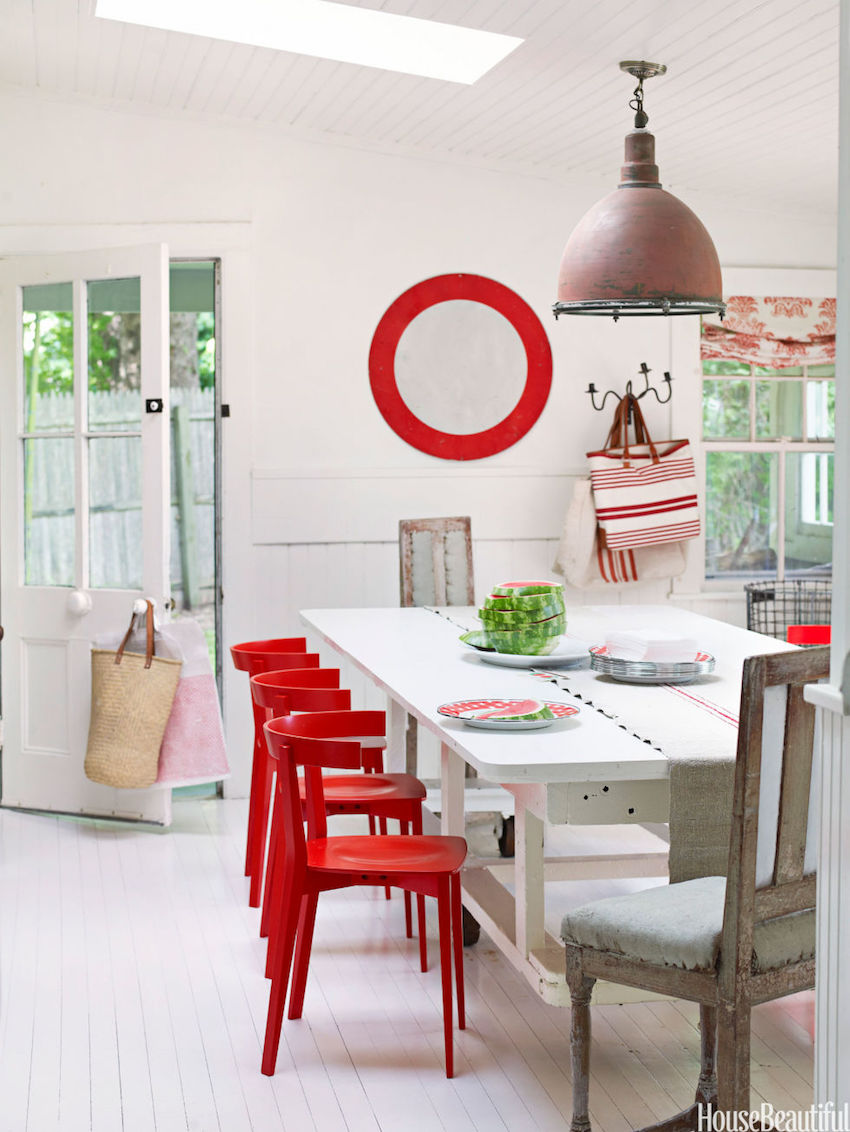 10 astonishing color scheme ideas for dining rooms that you will love - Focal point art essential aspect decor ...