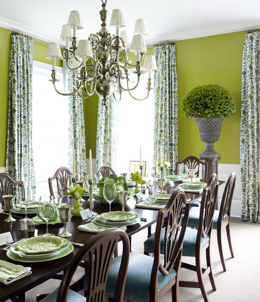 10 Astonishing Color Scheme Ideas for Dining Rooms That ...
