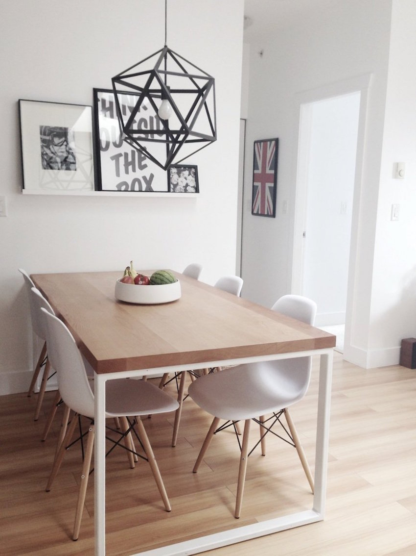15 inspiring small dining table ideas that you gonna love for Small dining room table ideas